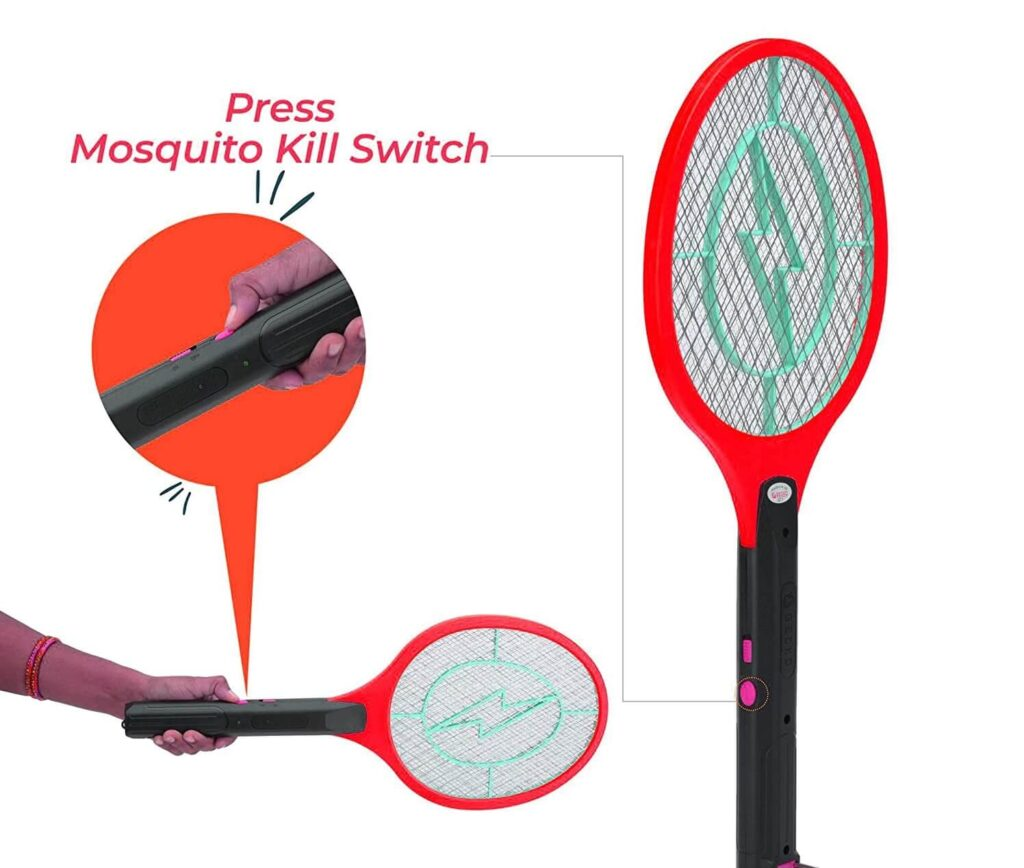 Thermocare Mosquito Killer Racket Bat with Powerful Battery