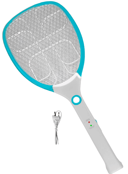 Weird Wolf Rechargeable Mosquito Racket/Bat with Lithium Battery