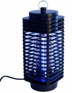 FINIVIVA Black Electric Mosquito Insect Killer LED Lamp