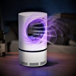 FIGMENT USB Powered Electronic Fly Inhaler Mosquito Killer Lamp for Home