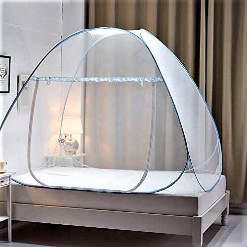 GALOPPIA Foldable Mosquito Net /Machhardani - Single Bed Bed