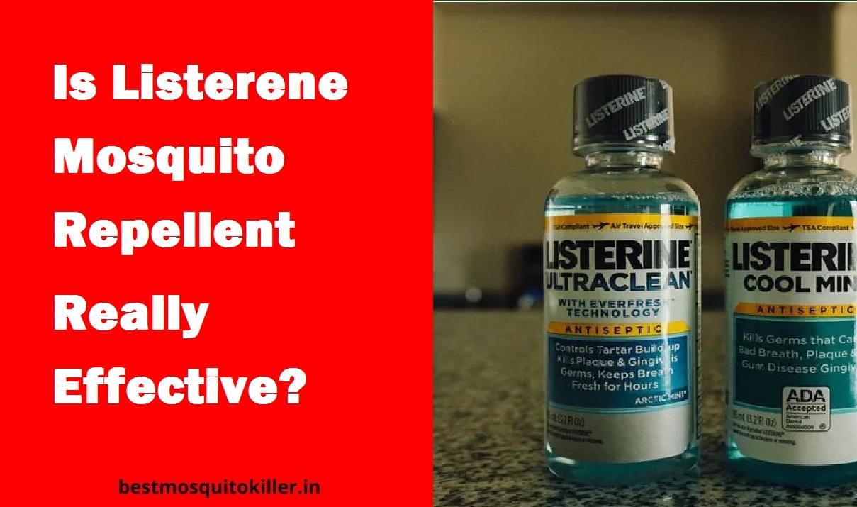 listerene mosquito effective?